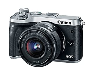 Canon EOS M6 15-45 Silver EF-M 15-45mm f/3.5-6.3 is STM Lens Kit (B06W52WHHG) | Amazon Products