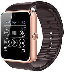 906bdfaeae Colofan スマートウォッチ 多機能腕時計 SIMカード対応 カメラ付き 着信お知らせ 歩数計 アラーム