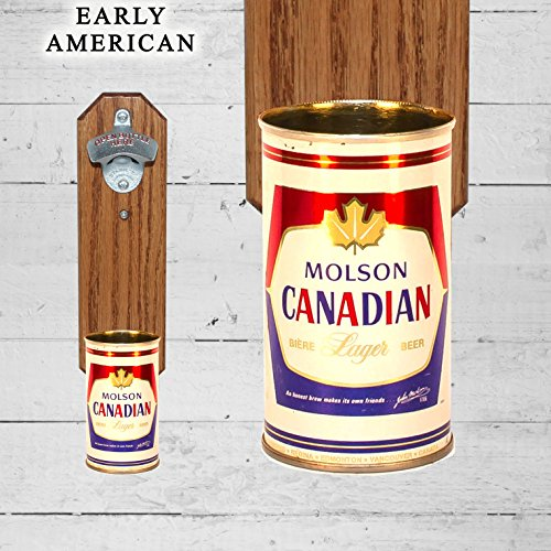 wall-mounted-bottle-opener-with-vintage-molson-canadian-beer-can-cap-catcher