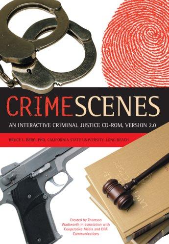 Crime Scenes 2.0: Interactive Criminal Justice CD-ROM, Macintosh/Windows