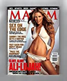 Maxim Magazine - April, 2001. Aly Larter Cover; Tom Green; Sara Spraker; Sammy the Bull; Patricia Velasquez; Unsafe Sex