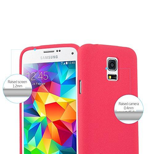 Cadorabo - Cubierta protectora para Samsung Galaxy S5 MINI de silicona TPU en diseño Escarcha