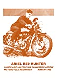 115MPH ARIEL Motorcycle Conversion Article.: Motorcycle Mechanics March 1966.