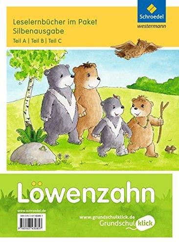 Löwenzahn - Ausgabe 2015: Leselernbücher A, B, C als Paket Silbenausgabe
