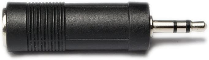 6,3 mm a clavija de 3,5 mm Jack Head nombresonido adaptador