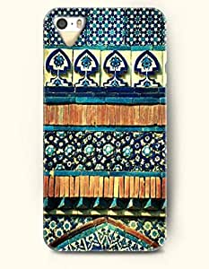 OOFIT Apple iPhone 6 plus Case Moroccan Pattern ( Turquoise and Steal Blue Subtle Mosaic Design )