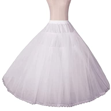 4135ac2ec0f7 Greenia Women's Petticoat Skirts Ball Gown Tulle 8 Layers Hoopless  Crinoline Underskirt