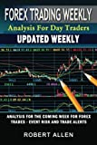 Forex Trading Weekly: Analysis For Day Traders: Forex Trades - Event Risk And Trade Alerts