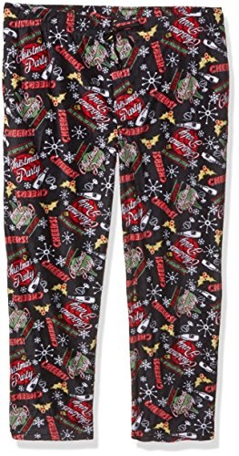 Fruit of the Loom Men's Holiday Microfleece Pajama Pant, ...