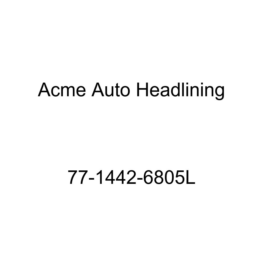 Acme Auto Headlining 77-1442-6805L Medium Blue Replacement Headliner 1977 Chevrolet Luv 3 Bow