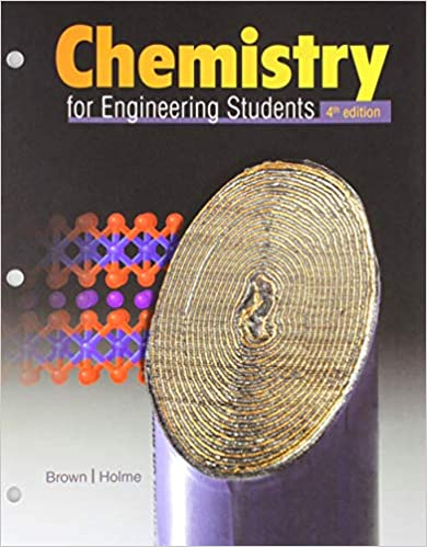 chemistry for engineering students 4th edition brown