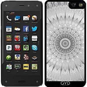 Funda para Fire Phone 4,7'' - Mandala Geométrica Plata by Nina Baydur
