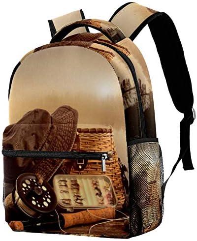 LORVIES Angelrucksack, Schulterrucksack, Büchertasche für Schule, Studenten, Reisetaschen