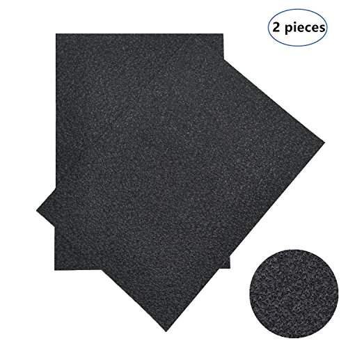 TriRanger Grip Tape for Gun Pistol Skateboard Phone Computer Cameras Knives Tools Guitar Pick Anti-Slip - Non-Slip Grip Tape Material Sheet, 5 x 7-Inch, 2 Pieces