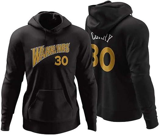 WZ Sudadera con Capucha para Hombre y Mujer, NBA 30# Steven Curry ...
