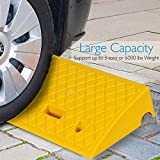 Portable Lightweight Plastic Curb Ramps - 2PC Heavy