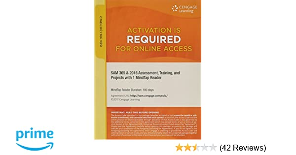 SAM 365 & 2016 Assessments, Trainings, and Projects Printed Access