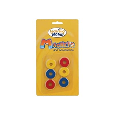 Popular Playthings Colorful Magnetic Rings - Set of 6: Toys & Games