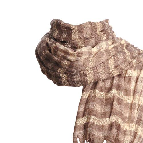 Foulard écharpe légère Maglia BEIGE