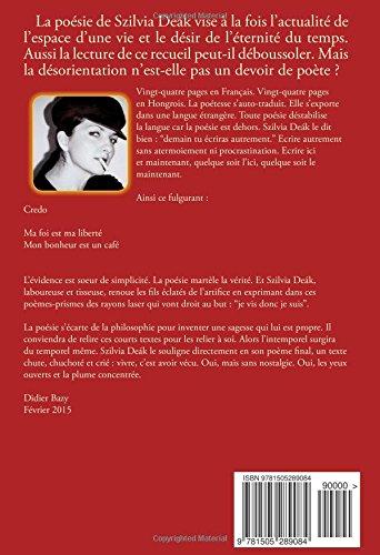 Romanticomodern Poèmes Versek Amazones Szilvia Deak