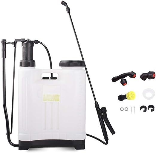 KHXJYC Pulverizador de presión de Mochila de 16 L, pulverizador de jardín para jardín y césped: Amazon.es: Hogar