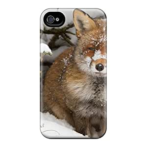Hot RfC21785Pkms Cases Covers Protector For Iphone 6- Red Fox In The Snow