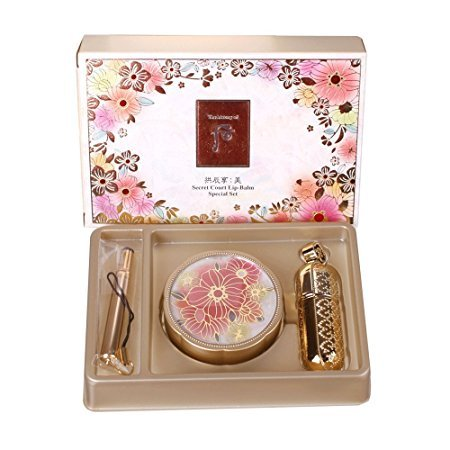 The History of Whoo Gongjinhyang Mi Secret Court Glow Lip Balm Special Set by The History of Whoo