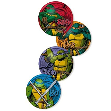 Teenage Mutant Ninja Turtles Dessert Plates, 8ct