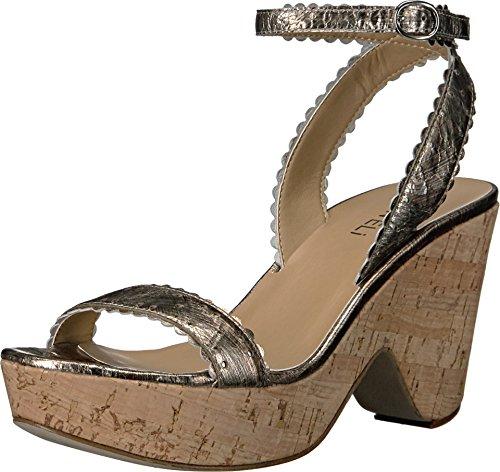Pale Gesa Ephie Platino Womens Nappa Metallic Silver VANELi Buckle Silver IqHwI