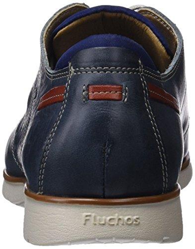 para de Cordones Zapatos Derby Giant Fluchos Blue Azul Hombre PxgXBnPw
