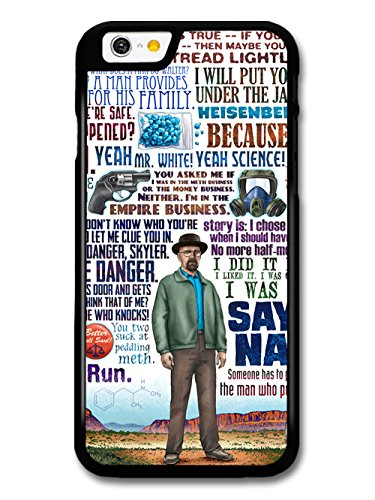 Breaking Bad Walter White Collage Quote coque pour iPhone 6