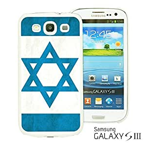 OnlineBestDigitalTM - Flag Pattern Hard Back Case for Samsung Galaxy S3 III I9300 - Israel