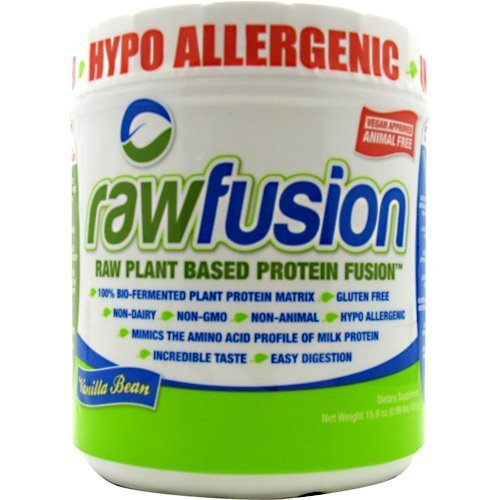 SAN Rawfusion, Vanilla Bean, .99 Pound by SAN Nutrition by SAN Nutrition