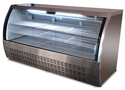 DC200 82'' Curved Glass Deli Case ( ) by Unknown