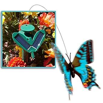 FlutterBy - Solar Garden Butterfly