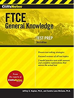 Ftce general knowledge test study guide 2018 2019 exam prep book cliffsnotes ftce general knowledge test 3rd edition fandeluxe Choice Image