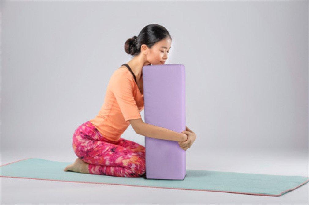 LUCKY-U Yoga Bolster, Yoga Rectángulo Bolster Pillow Yoga ...