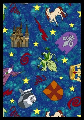 Joy Carpets Mythical Kingdom Kids Area Rug