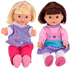 You & Me Friends Hide and Seek Dolls - Blonde and Brunette