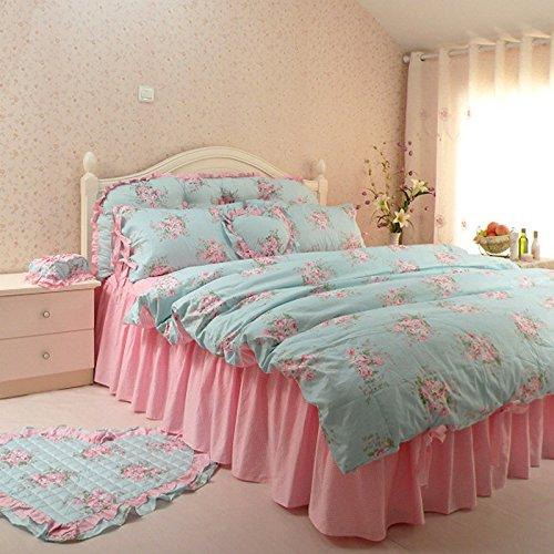 Bedding Princess Cotton Bed Skirt Size 150*200cm - 9