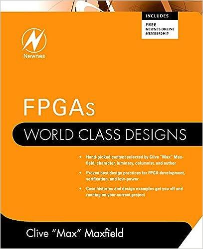 Fpgas world class designs clive maxfield 0001856176215 amazon fpgas world class designs 1st edition fandeluxe Choice Image
