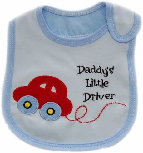 BabyTENS SO CUTE BABY BOYS BIBS PACK OF 7 ADORABLE BIBS,FULLY LINED,INNER PVC WATERPROOF 100/% COTTON SUITABLE FROM NEWBORN 3 YEARS