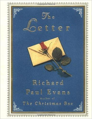 The Letter (The Christmas Box Trilogy): Richard Paul Evans ...