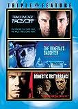 John Travolta Triple Feature (Face/Off / The General's Daughter / Domestic Disturbance)