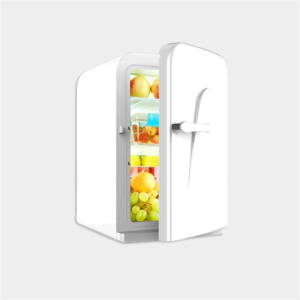 BX- 車のミニ冷蔵庫、家族、学生寮、薬物の母乳保存、外部26 * 32 * 42.5cm (色 : 白)  白 B07FVZN9T2