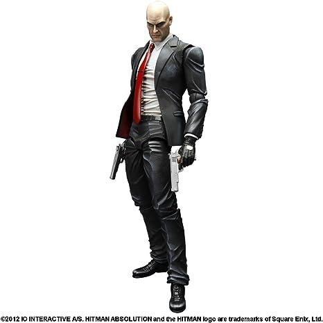 Hitman - Figura Play Arts Kai Agent 47: Amazon.es: Videojuegos