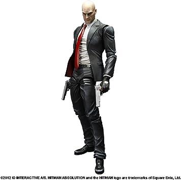 Hitman Absolution Agent 47 Play Arts Kai Action Figure Amazon Co Uk Toys Games