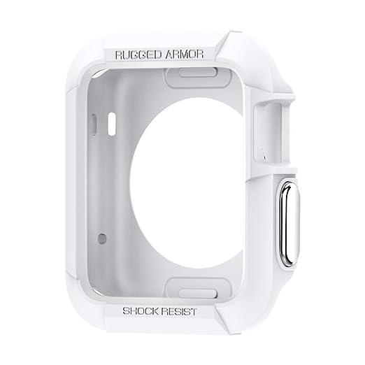 162 opinioni per Custodia Apple Watch, (42mm) Spigen [Rugged Armor] X2 Pellicola Protettiva