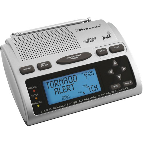 MIDLAND WR300 Weather Radio - Stores Mall Midland