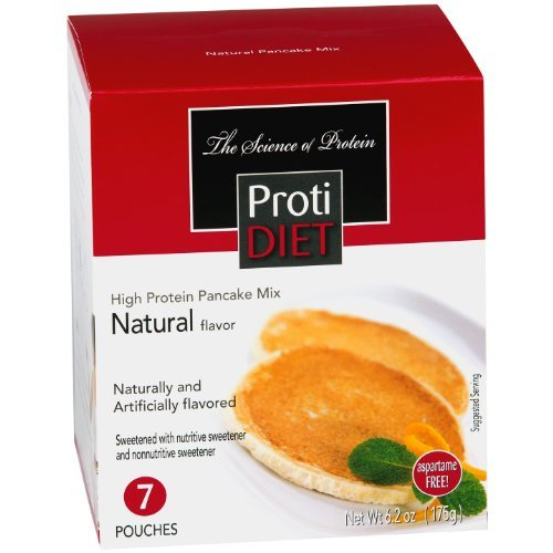 Protidiet Pancakes (Protidiet High Protein Natural Flavor Pancake Mix by Protidiet)
